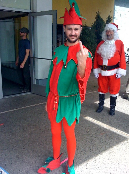 Will Wheaton Finger Elf F You