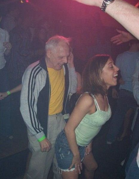 The Club Cant Handle Me Right Now Old Guy Dancing