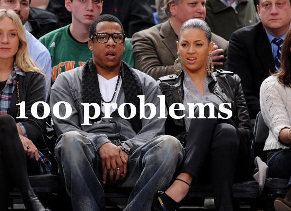 jay z has 100 problems